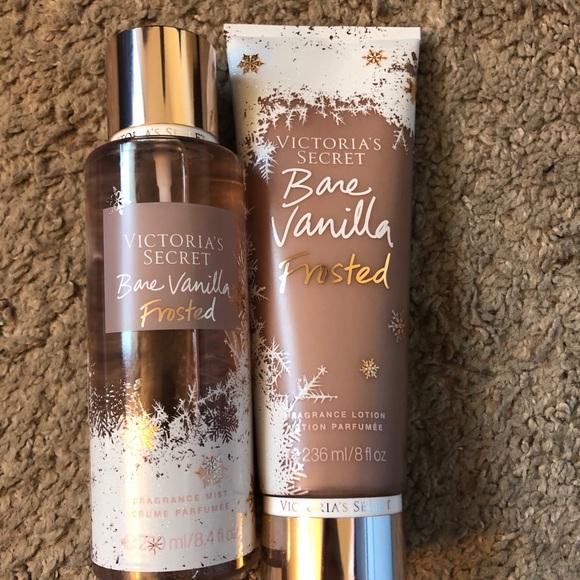 """12b67068a3 Victoria s Secret """"Bare Vanilla Frosted"""" Set"""